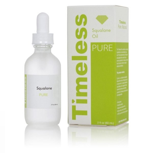 Timeless Skin Care Squalane Oild 100% Pure 30ml 1oz 2