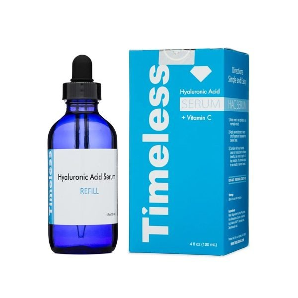 timeless Hyaluronic Acid + Vitamin C Serum Refill (120 ML) 2